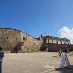 Outside Castillo de San Cristobal