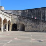 Outside view of Castillo de San Cristobal