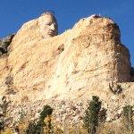 The amazing Crazy Horse mega-sculpture