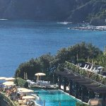 THE POOL AREA TAKEN FROM PATH TO VERNAZZA