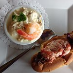 Shanty Combo - Seafood Chowder and a Lobster Roll