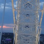 View of the SkyWheel from within the gondola