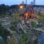 View of the mini golf course below!
