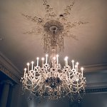 The crystal bar chandelier