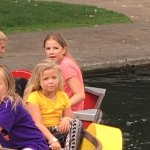Fun for all on paddle boats