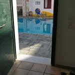 Our room was just couple of steps from the pool. It was nice to go for a dip before breakfast.