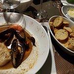 L'assiette du pêcheur, la rouille et les croutons