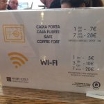 Wi-Fi & Safe Information