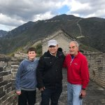 we took a photo from great wall