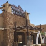 The entrance to the Al Ain Zoo
