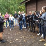 Harness briefing with Alex