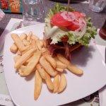 Bacon Burger con rosti di patate al posto del pane