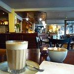 Latte at The Mayflower, Lymington
