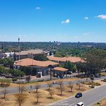 View from pool area of randburg