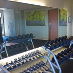 Gym inside hotel