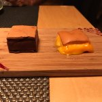 Lovely dessert plate at Taberna Moderna