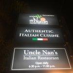 Bilde fra Uncle Nan's Italian Restaurant