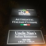 Uncle Nan's Italian Restaurant Foto