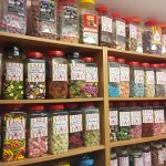 Around NaughtyButNice sweet shop next to Welcome Family Park