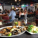 Deckhand baked Oysters and Salt and Pepper Calamari