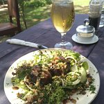 My delicious fig & blue cheese salad