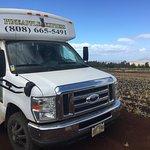 The Pineapple Express! (tour bus/van)