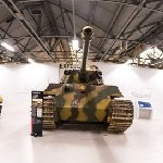 The excellent Tiger Tank display
