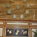 Clocks in the Reception area