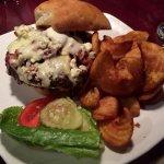 Delta Burger with Steak Fries - Delta Lake Inn, Rome NY