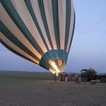 hot Ballooning in Masai Mara