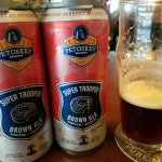 Petoskey Brewing - Super Trooper Coffee & Donuts Brown Ale supports MICOPS