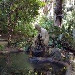 The Nymph, historical garden
