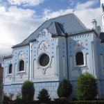 St. Elizabeth's, the Blue Church in Bratislava
