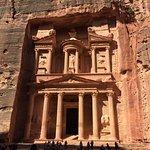 The beautiful treasury at Petra