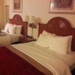 Nice spacious bed