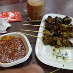 5. Chicken Heart & Liver Satays
