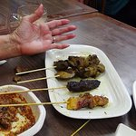 7. Size of Satays relative to hand