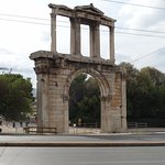 Nearby Hadrian's Arch