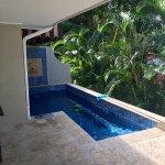 Honeymoon Hideaway One Bedroom Butler Suite - our private pool