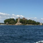 Heart Island - Location of Boldt Castle (power house is on far right)