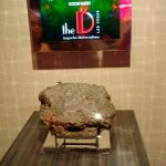 A piece of the Blarney Stone at The D Casino