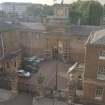 View of the Royal Mews from our room
