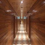 Lovely wood panelled corridors