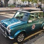 LuLu in front of Abbey Road studios!