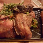 Sausage, Beef asado & Lamb Asado