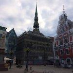 Riga Town Hall Square Foto