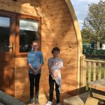 Lovely time at Campsie Glen Holiday Park would highly recommend,The Pod was perfect, park & faci
