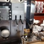 The coffee machine - what a terrific amenity!