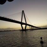 Dinner cruise under the bridge