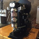 Our new Crowler machine! Take home 32 oz!
